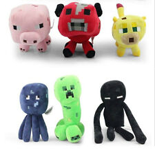 1PCS Sandbox Game Minecraft Enderman Creeper Ocelot Animal Soft Plush Toy Doll