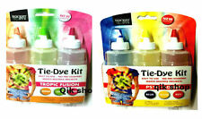 3In1Tie Dye Kit Clothes Customising No Pre Soaking Just Add Water Easy To Use