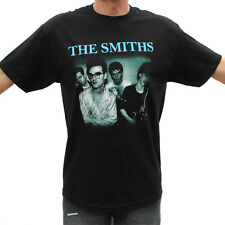 The Smiths (Blue Logo) Rock Band Graphic T-Shirts