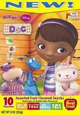 Kellogg's Doc McStuffins Assorted Fruit Flavored Snacks Made with Real Fruit