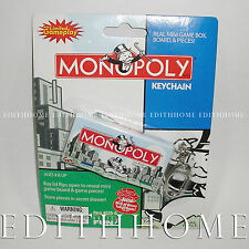 Real Mini Game Board Keychain - MONOPOLY / CLUE / The Game of LIFE