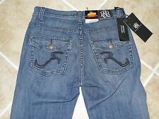 NWT Women Rock and Republic Roxy Boot cut style stylish jeans Sz 8 Nice!!
