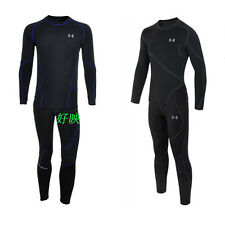 Winter Outdoor Sports Men's Cycling Thermal Fleece Underwear Shirts Pants Suits