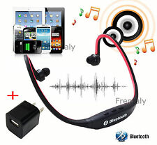 B2 w/Charger Wireless Bluetooth Stereo Back Headset for LG HTC Google Nexus 2 3