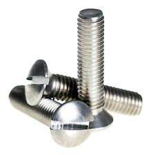 M5 ( 5mm ) A2 Stainless Steel Raised Slotted Countersunk Machine Screws DIN 964