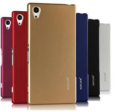 Ultra thin Hard Case Smooth Back Cover + Screen Protector for Sony Xperia Phone