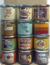 Bath and Body Works ~2014 FALL FRAGRANCES 14.5OZ JAR CANDLES~ U CHOOSE-