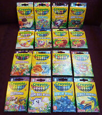 Crayola Crayon Target Exclusive Pick Your Pack sets, 8 per box, 2011, 2012, 2013