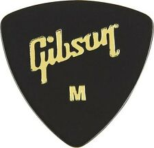 GIBSON GG73 LARGE TRIANGLE 'WEDGE' MEDIUM GUITAR PICKS LUCKY PLUCKER PLECTRUMS