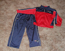 New England Patriots Track/Warm Up Suit/Jacket/Pants NWOT Youth Sz 12 mos