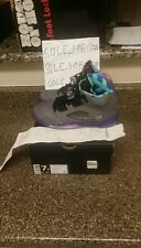 NIKE AIR JORDAN RETRO 5 V BEL AIR FRESH PRINCE SIZE 7Y WITH RECEIPT