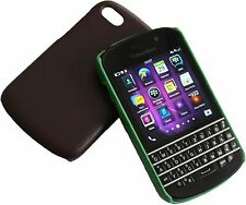 Case Black Berry Black Brown Q10 Protection Bag Leather Mobile Phone