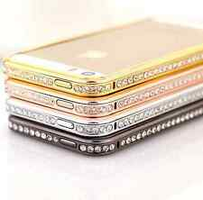 Brillant Cristal Etui bling Aluminium housse coque pour Apple iPhone 6 5S 4S 5C