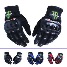1Pair Motorcycle Cycling Bike Bicycle Full Finger Sports Protective Racing Glove