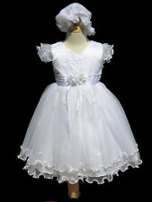 Infant ,Toddler Girl ,Baptism,  Christening,Dress, Size: XS, S,M, L, XL, 3T,4T