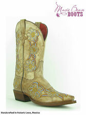 Macie Bean MB547 You're No Daisy Pointed toe with embroidery daisy Just arrived