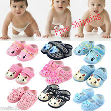2014 Hot Sale Pretty Newborn Soft Baby Toddler Shoes Kids Shoes 3 Sizes Cute