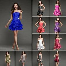 New Design Formal Short Bridesmaid Party Wedding Ball Gown Women Evening Dress