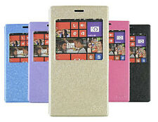 PU Leather Flip Cover Stand Case + Screen Protector for Nokia Lumia 1520