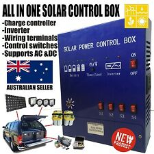 Solar power generator system charge controller solar panel solar battery package