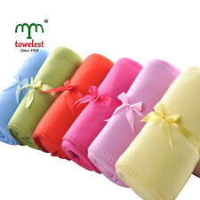 MMY Brand New Coral Throw Blanket 6 Different Color Solid Travel Fleece Blankets