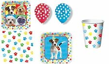 Paw Ty Time Dog Child Kids Child Birthday Party Supplies Decorations Paws Animal