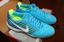 NIKE Gato II Men's Shoes, Color blue & white with green accents, New in Box