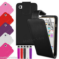 New Premium Flip Wallet for Apple iPhone 5 5S Case Cover