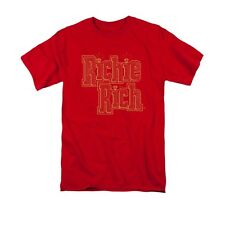 RICHIE RICH STACKED ADULT T SHIRT SM MED LG XL 2XL 3XL