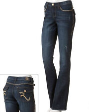 NWT ROCK AND REPUBLIC Boot Cut Kasandra Womens Jeans Sexy Fit