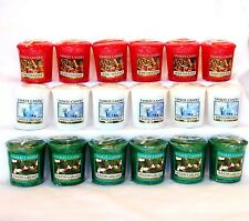 Yankee Candle Christmas & Holliday  Votives~ You Choose~~ Lot x 6~~ Free Ship