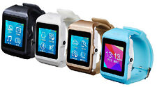 Full Touch Screen Unlocked GSM Camcorder Bluetooth Smart Watch Cell Mobile Phone