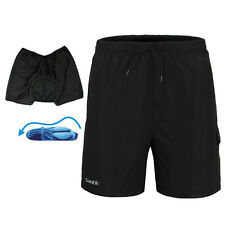 Men's Mountain Loose Bike Bicycle Shorts 3D Padded MTB Cycling 1/2 Pants M-4XL