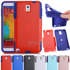 Rugged Hybrid Commuter Series Shockproof Case Cover For Samsung Galaxy Note 3