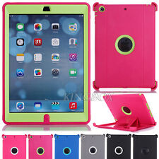 Heavy Duty High Impact Rugged Defender Series Case + Shield Stand For iPad Air 1