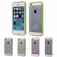 Ultra Thin Clear Crystal Transparent TPU Silicone Case Cover For iPhone 5 5S 5G