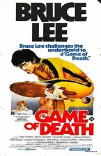 The Game of Death Movie Poster Kung Fu Bruce Lee 1978