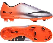 Nike Mercurial Victory IV FG Soccer Cleats 555613-508 Purple/Orange Vapor IX