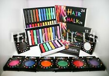 HAIR CHALK UK - CHILDRENS Hair Chalk Sets, High Quality, Non-Toxic, Temporary
