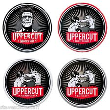 Uppercut Deluxe Pomade Matt Clay Monster Hold Or Featherweight Hair Styling Wax