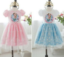 New Frozen Princess Elsa Girl Dress Skirt