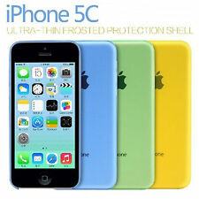 iPhone 5C Ultra Clear Transparent Soft Gel cover case & Screen Protector