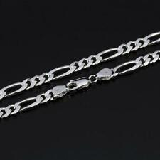 Wholesale 5pcs 925 Sterling Silver 2mm Italy Figaro Chain Necklace 16-30 inches