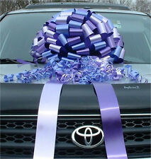NEW Multi Color GREAT BIG CAR BOW - LARGE GIFT RIBBON BOWS SALE w/ FREE PRINT