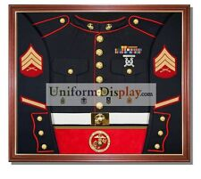 Military, Police or Firefighter - Uniform Display Case