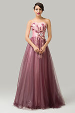 2014 CHEAP! Elegant Long Evening Dresses Party Gown Bridesmaid Formal Prom Dress
