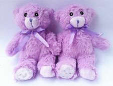 3D Cute Lovely Purple Teddy Bear Cool Plush Toy Doll Case Cover For Motorola
