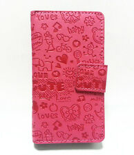 Lovely Cute Girl Flip Leather Pouch Case Cover For Sumsung Galaxy Ace Dear S6352