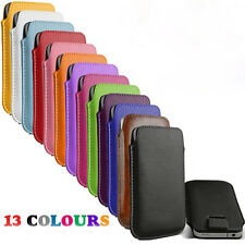 13 colour bulk Leather Pouch Case Bag for sony for xperia e Dual c1505 Cover