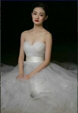 white/ivory wedding dress in stock size 6 to16 ,good price/quality A+++